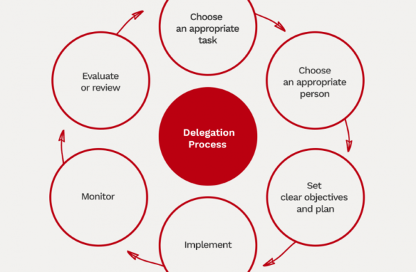 Project Management Delegation Process